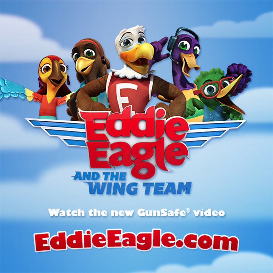 Eddie Eagle and the Wing Team