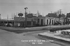 Rt. 51 and Old Clairton Road 1941